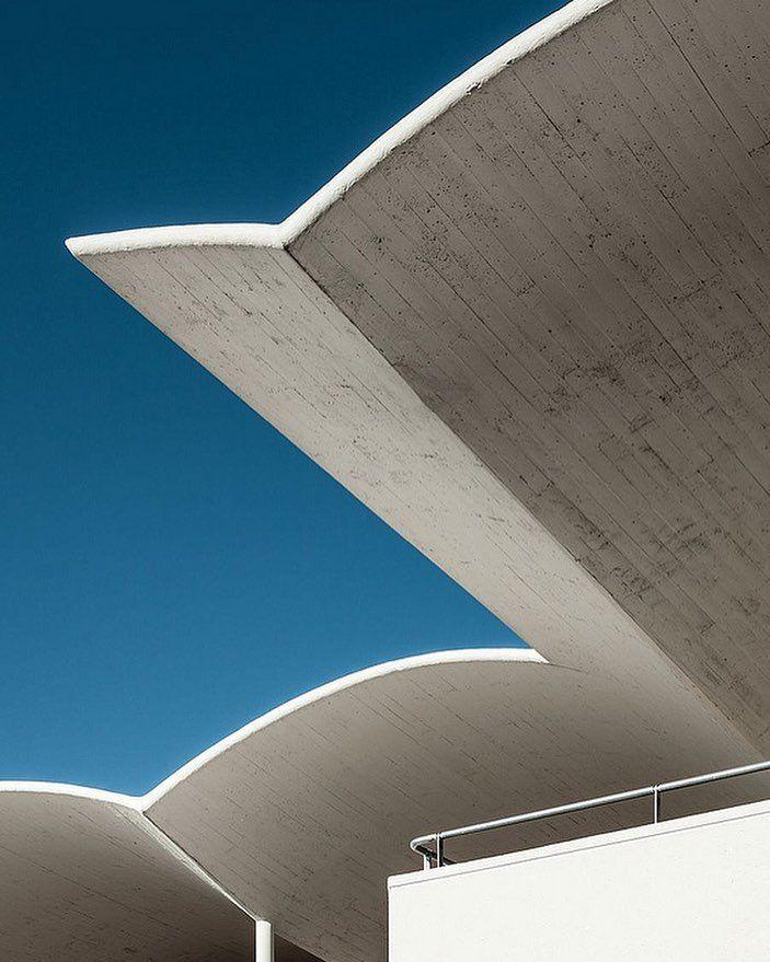Hipodromo de la Zarzuela Madrid Spain.  Architect: Eduardo Torroja Miret.  Photographer: Ximo Machavila  Via: http://ift.tt/1VqziiQ  #art #artist #architect #archilovers #architecture #architectureporn #architecturephotography #architecturelovers #awesome #brut #brutal #brutalism #brutalist #brutalismarchitecture #beautiful #perfect #minimalism #style #details #design #dope #graphic #geometric #modern #raw #concrete #madrid #spain #sky #skyporn by waxandbrutalism