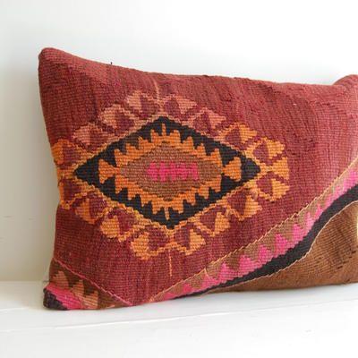 Antik kelimkudde - Kelimboots, ikat kuddar, hamam handdukar - urban ethnic fashion & interior