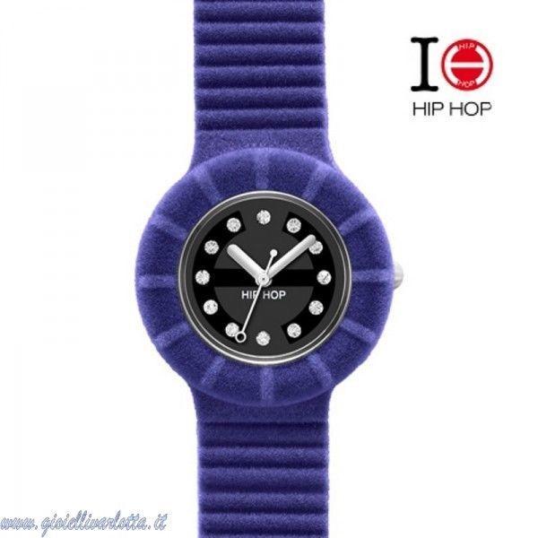 Orologio donna Breil Hip Hop Viola Velvet Touch HWU0137