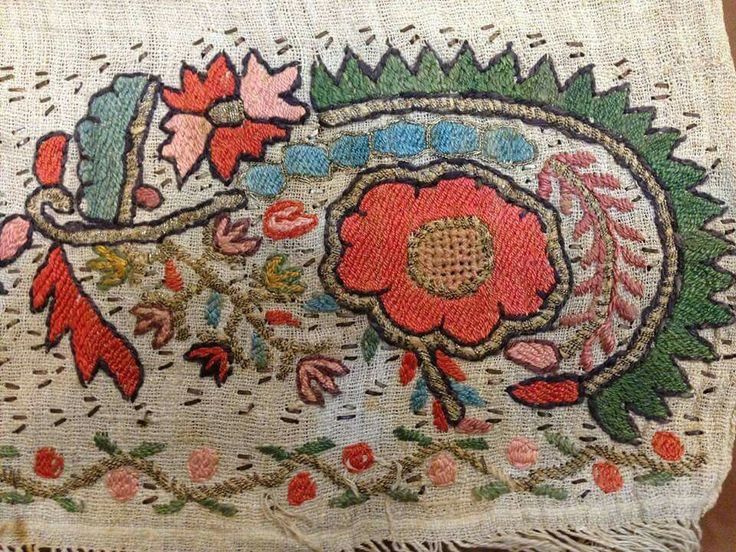 Ottoman embroideries