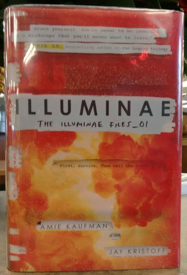 Illuminae by Amie Kaufman and Jay Kristoff.  I cataloged the sequel to this book recently and decided it looked interesting so I tracked down this first book in the series.  I especially enjoyed the format.  The book is presented as a file of materials collected together as an incident report.  I'll be reading the second book in the series soon.