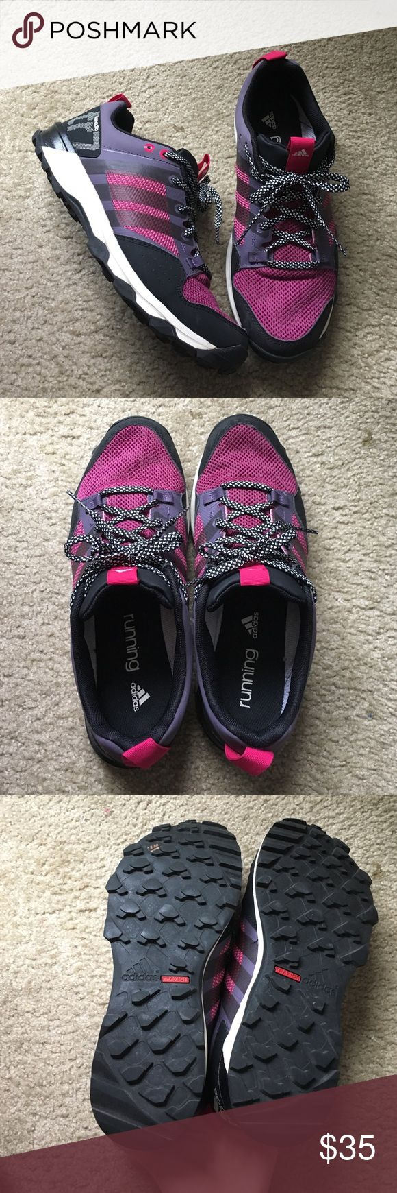Almost New Adidas Running Shoes Worn twice. Adidas kanadia running shoe. Excellent condition. Adidas Shoes Athletic Shoes