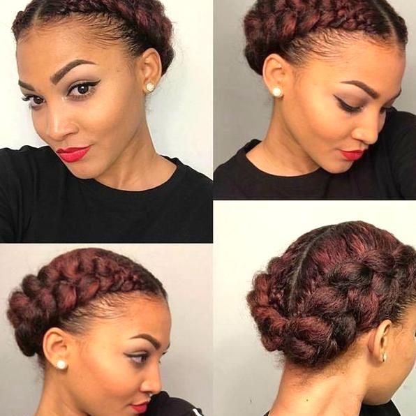 Protective Hairstyles For Transitioning Protective Braid Styles Protective Styles Braided In 2020 Natural Hair Styles Protective Style Braids Medium Length Hair Styles