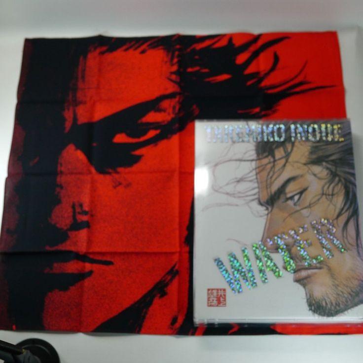 Takehiko Inoue - Water & Sumi Art Book [Korea Limited Edition +Bandana] VAGABOND