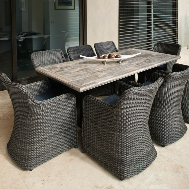 Beautiful Melton Craft Pompeii Travertine Table   Outdoor Furniture Gallery | BBQu0027s U0026  Outdoor | Outdoor Furniture Inspirations | Pinterest | Outdoor Furniture ...