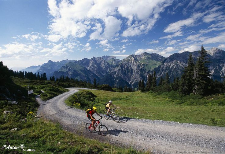 Mountainbiken in und um St. Anton am Arlberg