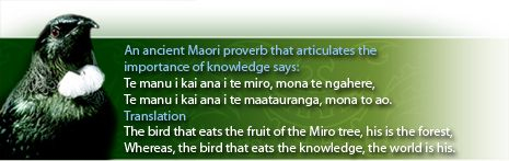Quotes #1 Maori Proverb on Knowledge