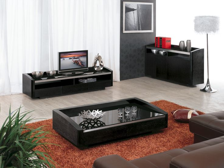 DOKER series by Caffe Collezione - coffee table & tv cabinet (журнальный столик и тв-тумба)