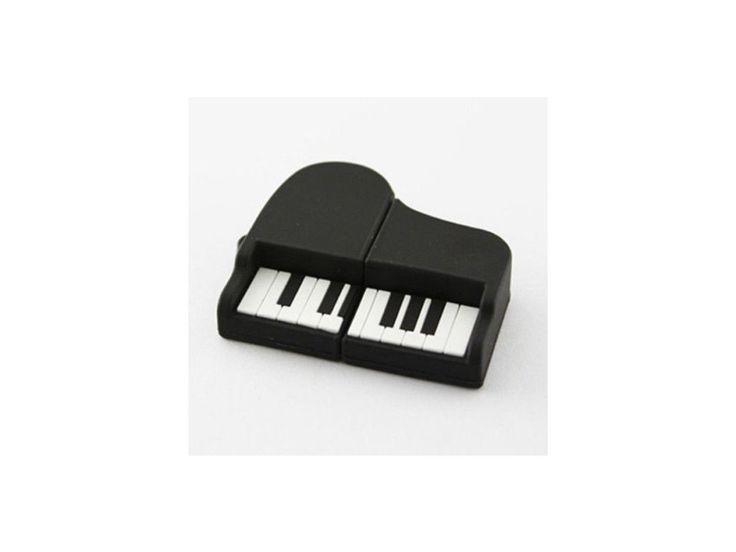 USB Flash disk 8 GB klavír černý - HUDEBNIKUM.CZ