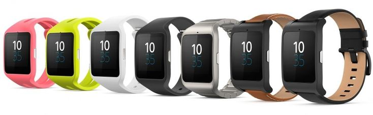 There are several straps available for SmartWatch 3