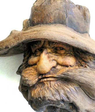 Another creative wood carving from Nancy Tuttle on Ebay
