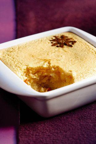 Gebakte karringmelkpoeding - Baked buttermilk pudding If the recipe is in Afrikaans, use Google Translate)