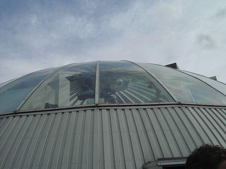 Discotheek Outland Rotterdam rondleiding koepel buiten.JPG (1600×1200)