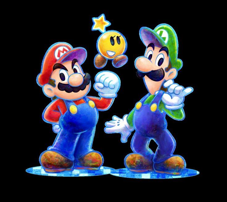 mario and luigi dream team   mario luigi dream team bros nintendo 3ds 1371044023 037 Test Mario ...