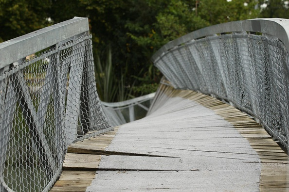 Christchurch's wobbly bridge earthquake 1 bridge 0