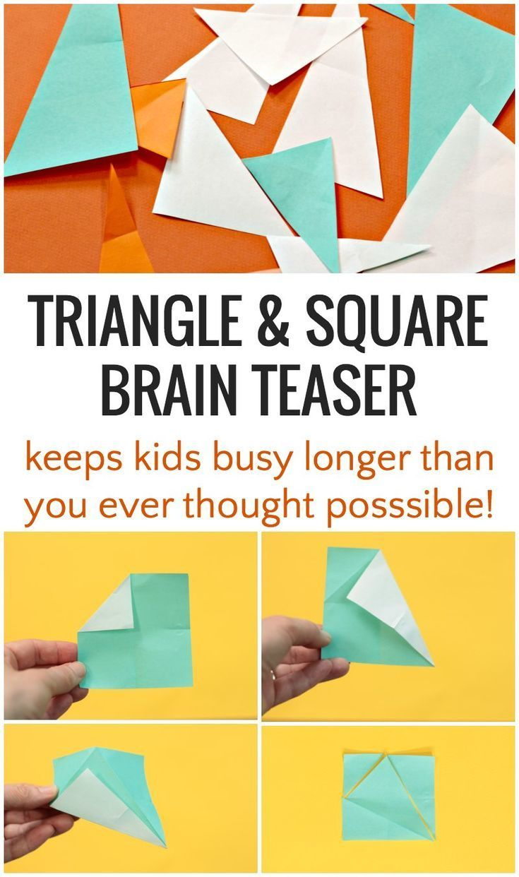 Triangle Puzzle Will Stump Your Kids Longer than You