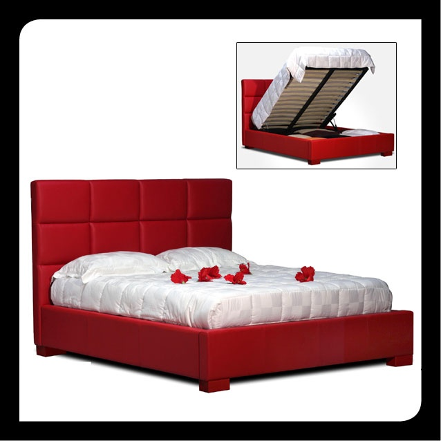 Hydraulic Storage Bed With Flip Up Mechanism Available