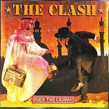 """Jan. 19th, 2013:  """"Rock the Casbah"""" is a song by the English punk rock band The Clash, released in 1982. The song gives a fabulist account of a ban on rock music by the Sharif, or King, being defied by the population, who proceed to """"rock the casbah."""" The King orders jet fighters to bomb any people in violation of the ban. The pilots ignored the orders, and instead play rock music on their cockpit radios."""