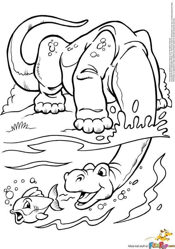 65 besten dinosaure Bilder auf Pinterest   Dinosaurier, Malvorlagen ...
