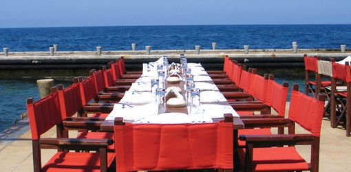 Things To Do in Beirut – La Plage. Hg2Beirut.com.  Delicious food and great lunch location!