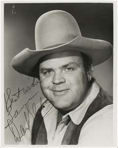 Dan Blocker Hoss From Bonanza TV Series. Love that Show For Years.