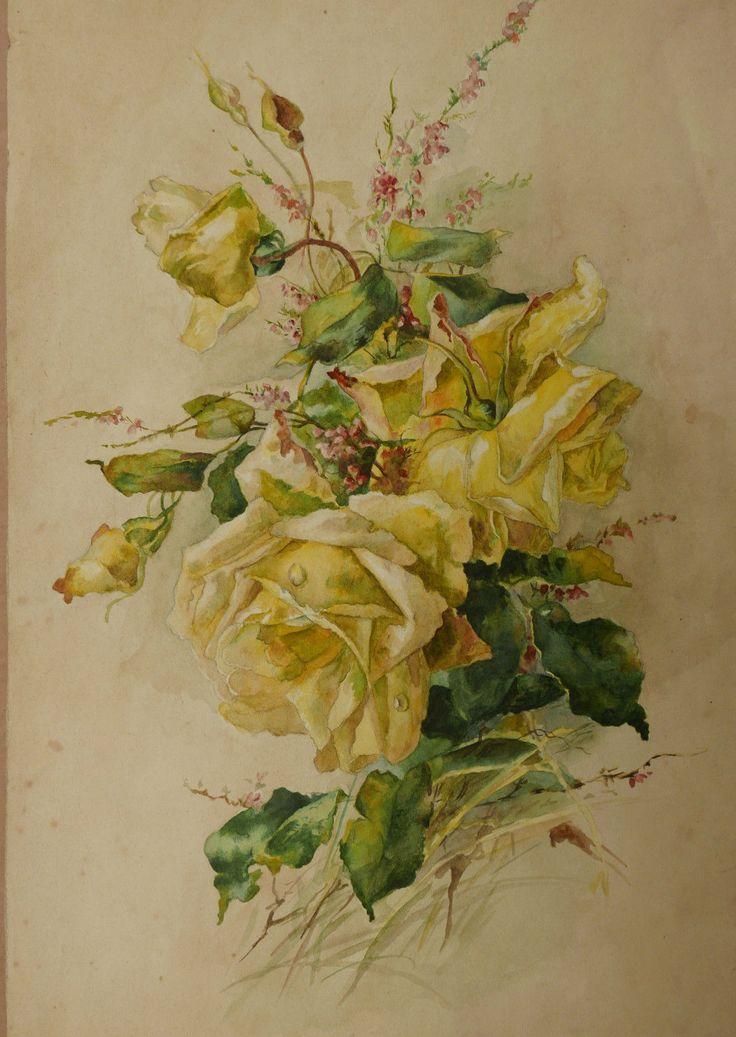 1000 id es sur le th me bouquet de roses jaunes sur for Bouquet de fleurs jaunes