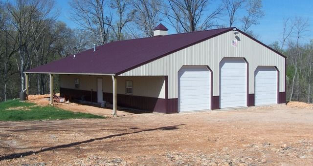 42 x 60 morton building 40x60 metal building prices for Garage building cost