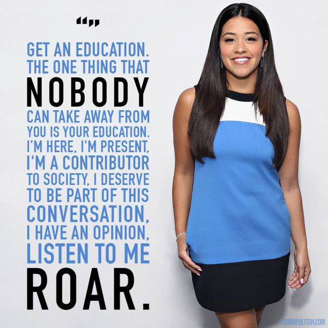 10 Empowering Gina Rodriguez Quotes You Need in Your Life   - Cosmopolitan.com