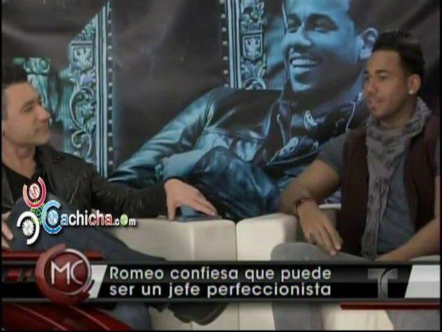 Confesiones de Romeo Santos En #AlRojoVivo #Video | Cachicha.com