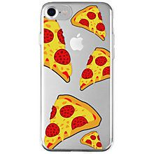 La Vie iPhone 6/6S/7 mykt deksel (pizza)