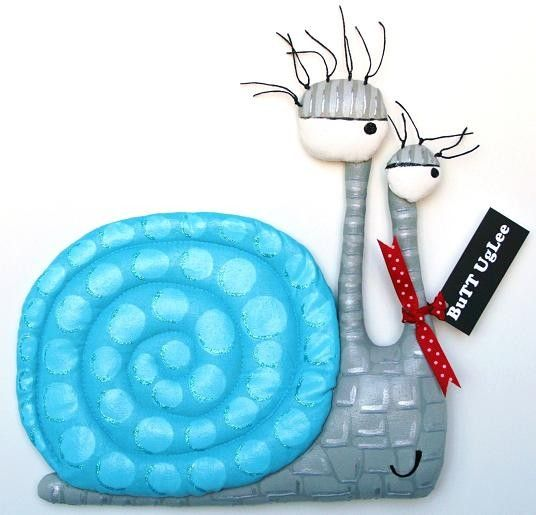 SnaiL NaMed James by buttuglee on Etsy
