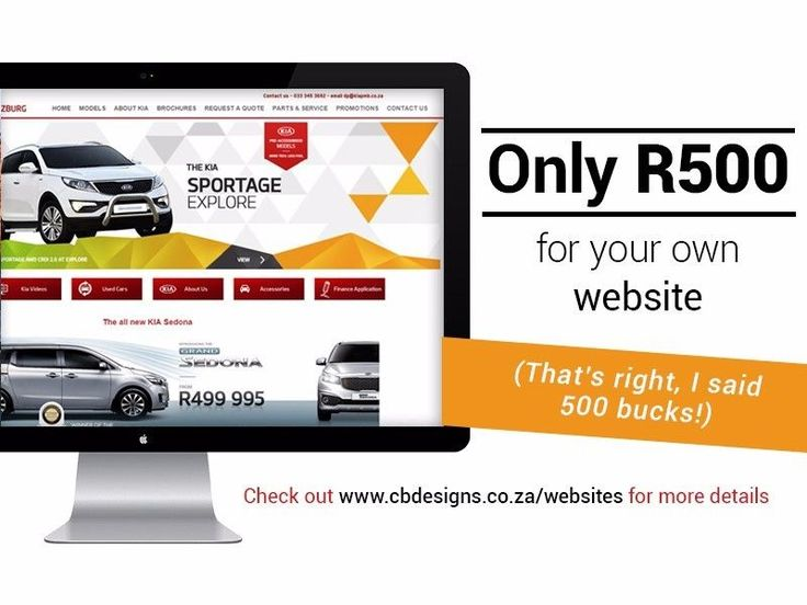 It is so worth having your own website - and no need to put it off at this price. I do the initial registration for you - you just need to sign the online agreement. So quick and easy. http://www.cbdesigns.co.za/websites/ (I only represent products I can really stand behind, and this is a great system with helpful support. )
