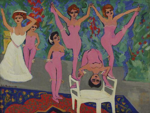 Ernst Ludwig Kirchner, Variety Show 1908