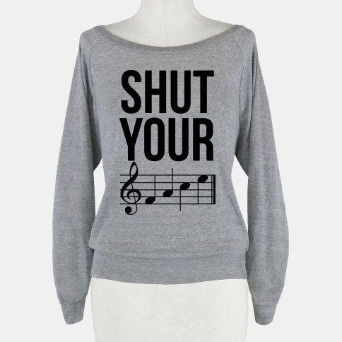 Shut Your (FACE) | Sweatshirt | HUMAN