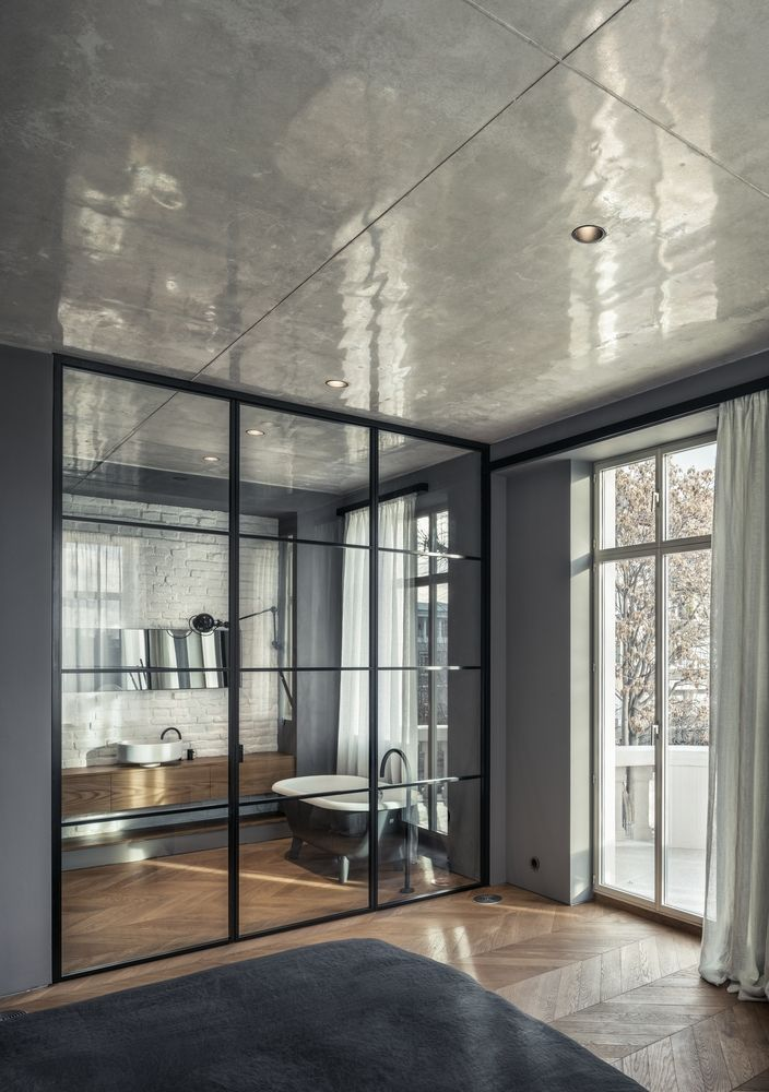 Gallery Of White Concrete Old House I O Architects 13