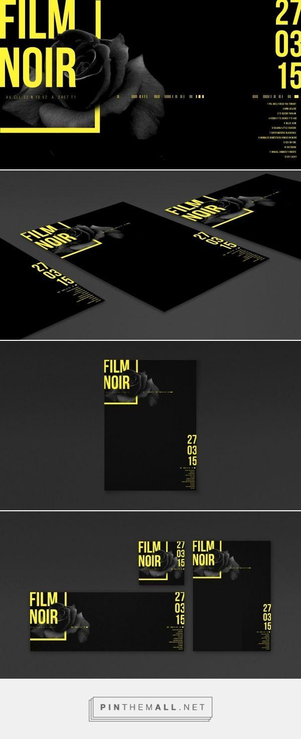 Design / Branding / Grafica / amarillo / negro / poster / cartel / blackrose / afiche / flyer / concert promo