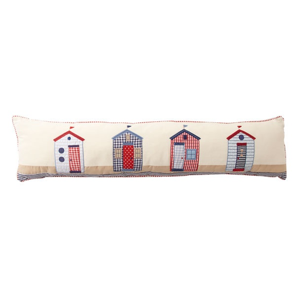 Beach Huts Draught Excluder