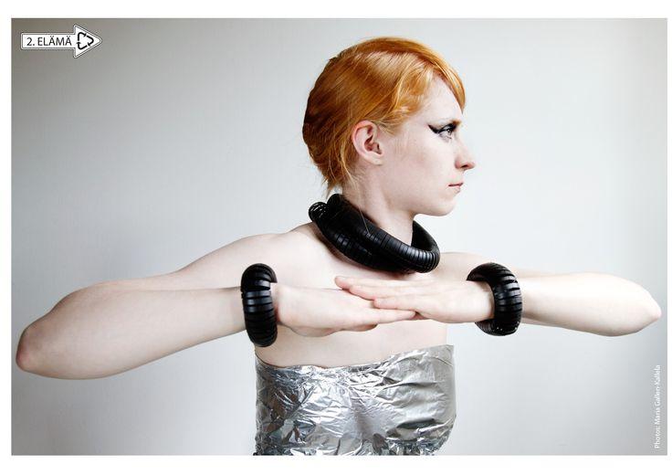 MEDUSA necklace and bracelet