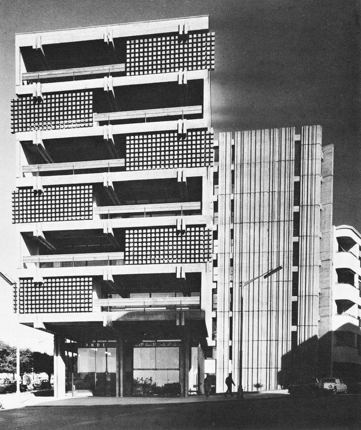 National Bank for Economic Development, Rabat, Morocco, 1965