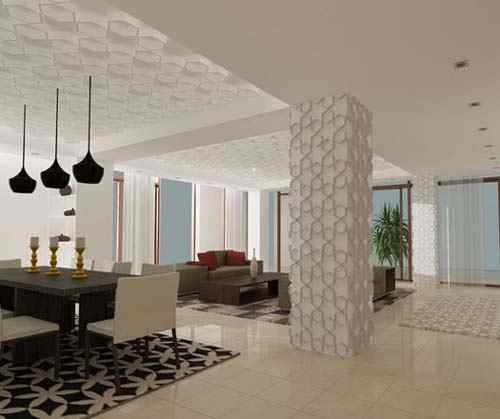 Modern Islamic Art 3 Clinic Interior DesignModern