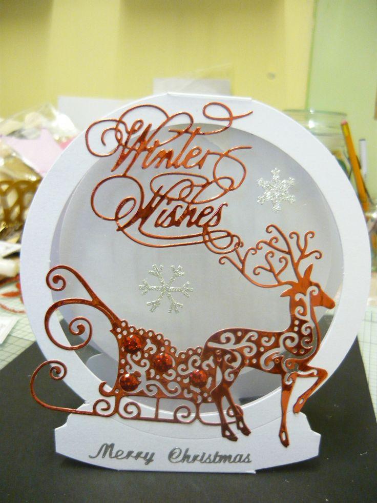 Snow globe Tattered Lace