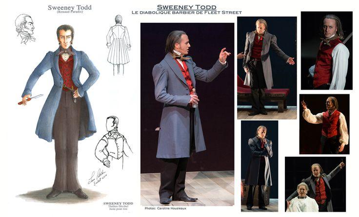 creations-lucepelletier.com | Costumes Sweeny Todd Québec théâtre comédie musicale