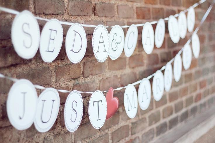 Just Married Banner/Evleniyoruz Bannerı