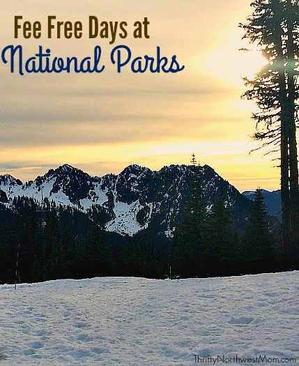 Check out this list of the Free national Parks Day in 2016, which is their Centennial Celebration, celebrating 100 years of National Parks.