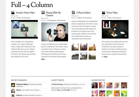 Elemin A Typographic Elegant Minimal Responsive WordPress Theme By Themify