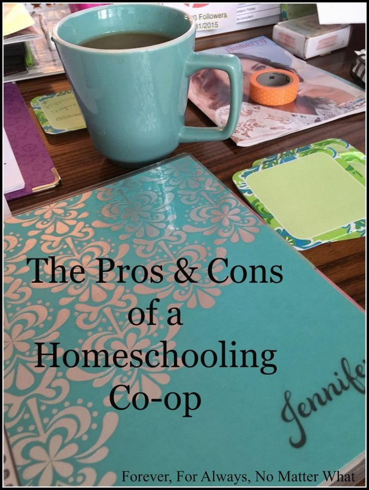 Pros & Cons of Homeschooling Co-op. Often a co-op can make family life easier, but sometimes not!