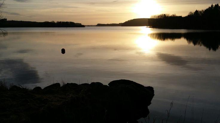 Frøylandsvatnet january 2017. South west