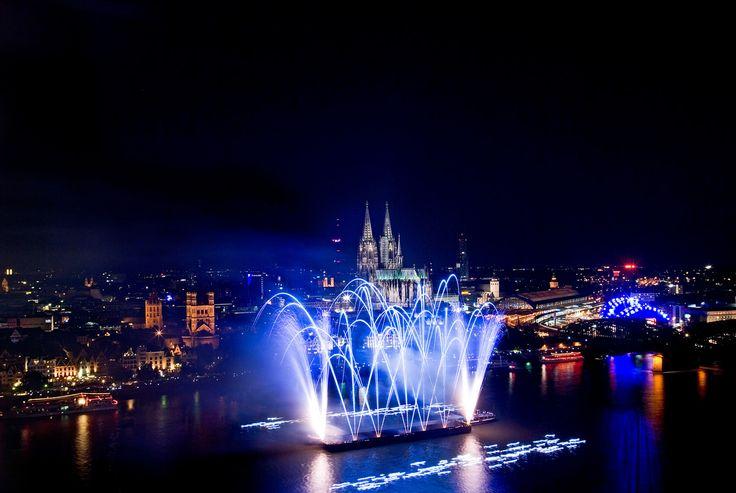 Kölner Lichter, Köln / #Cologne ©KölnTourismus GmbH, #Feuerwerk / #Fireworks