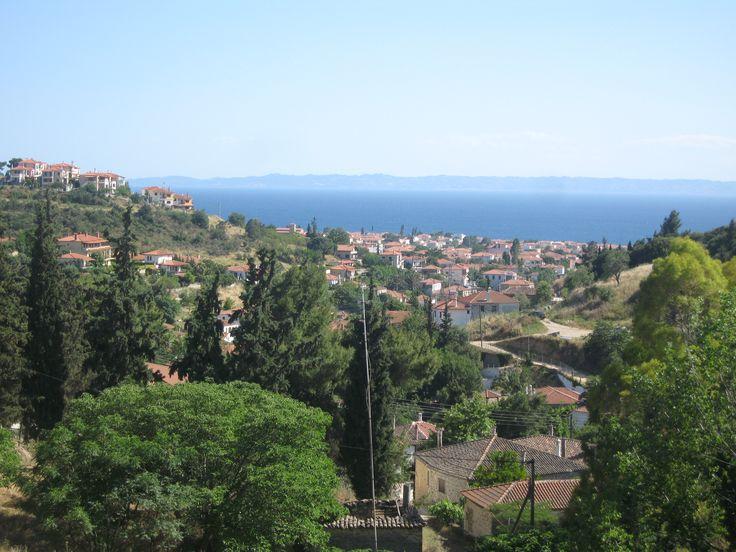 The view from Agios Nikitas church #Nikiti #Sithonia #Halkidiki #Greece