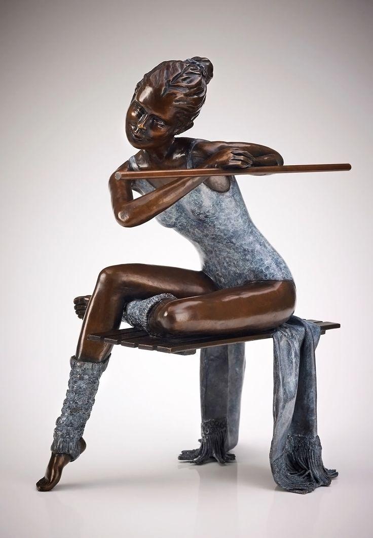 The Last Dance. Benson Landes (1927-2013). Bronze